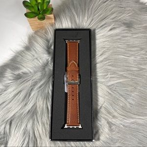Genuine Leather Apple Watch Band 38mm
